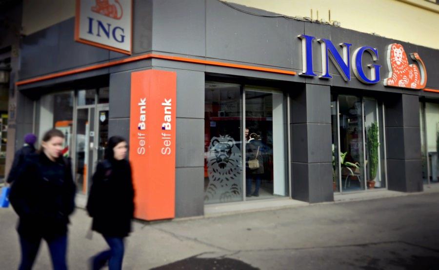 ING a obținut un profit net de peste 40 de milioane de euro în primele trei luni ale anului