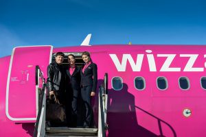 Wizz Air, trei rute noi de pe aeroportul din Cluj-Napoca