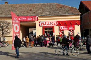 Profi a mai deschis cinci magazine