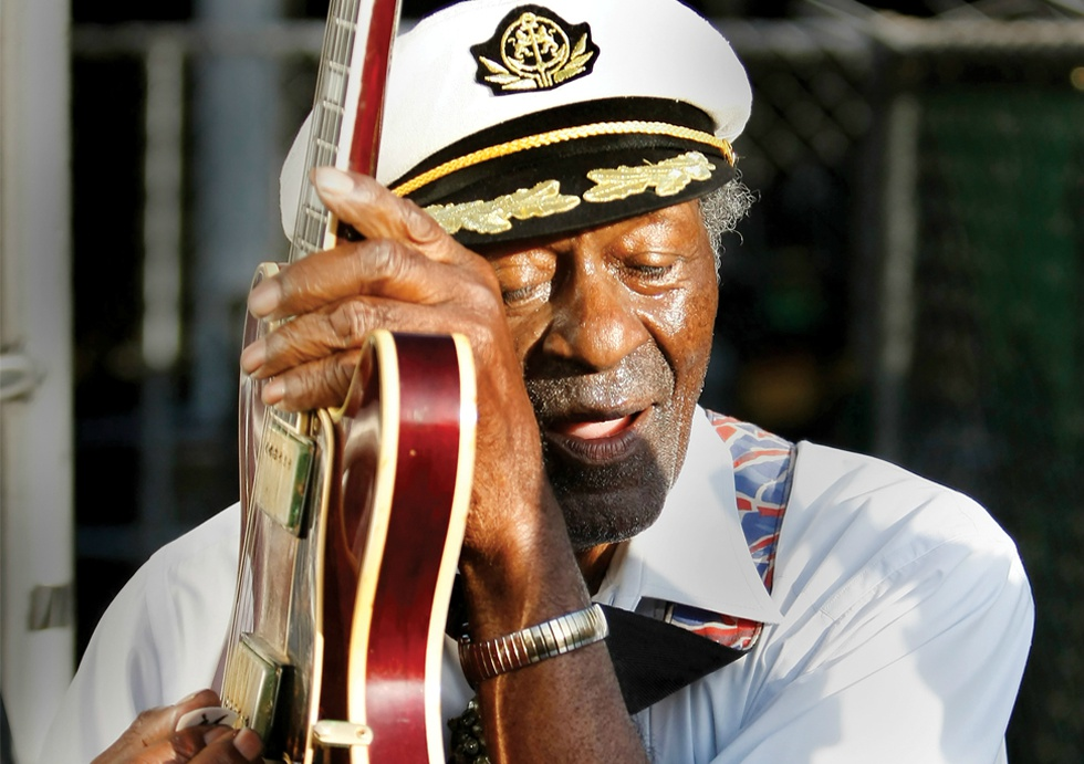 Chuck Berry: sfârșit de rock'n'roll