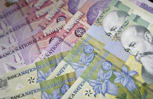 salariul mediu net lei leu robor bancnote bani un leu mediafax newmoney