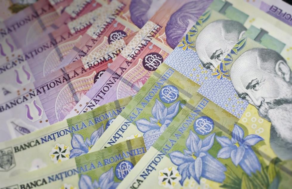 salariul mediu net lei leu bancnote bani un leu mediafax newmoney