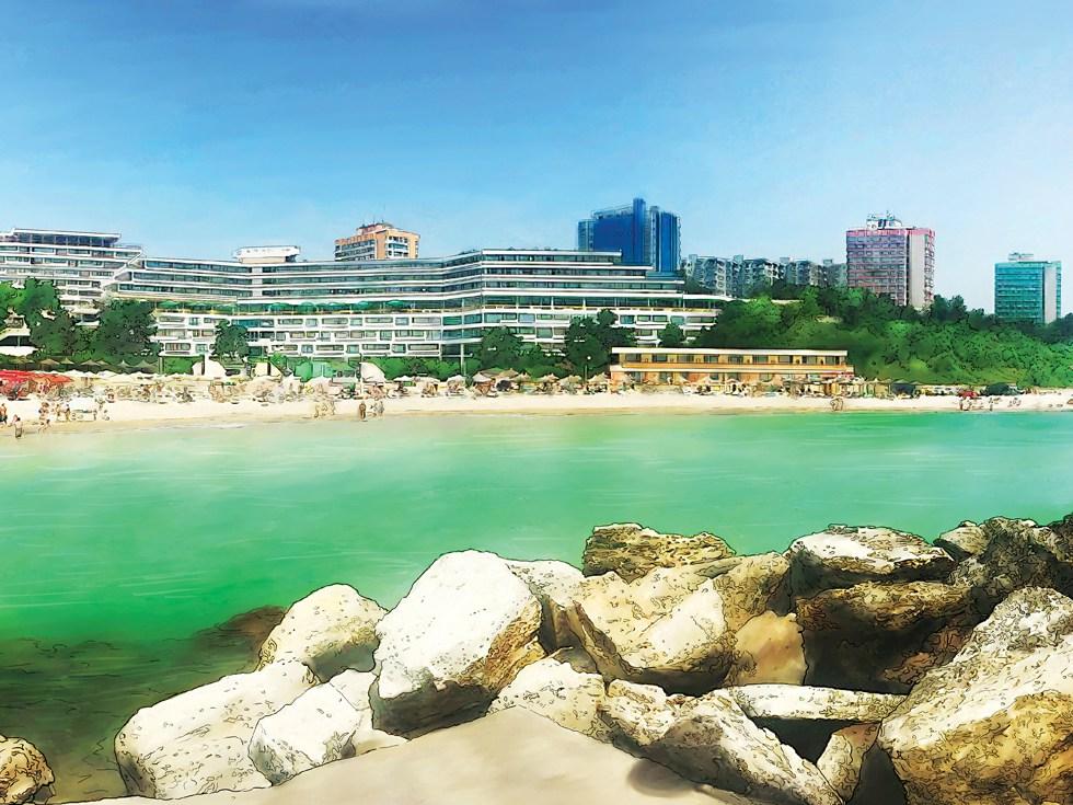 Nisipuri mișcătoare: de ce va fi sudul litoralului o amenințare pentru hotelurile din Mamaia