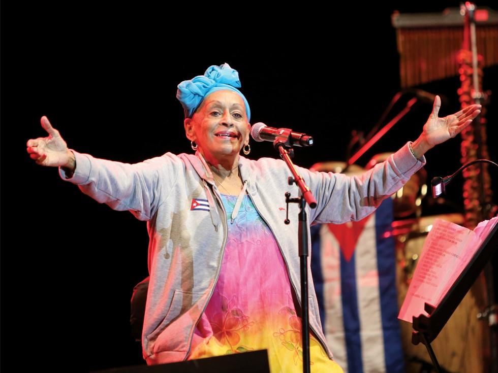 Omara Portuondo, suflet cubanez