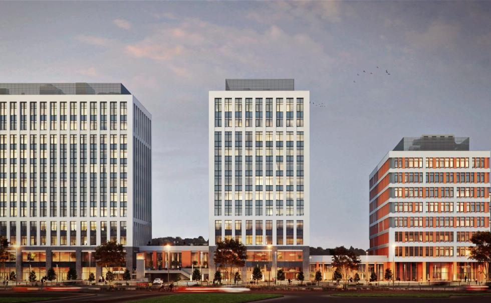 Vastint a închiriat aproape un sfert din primele două clădiri de birouri de la Timpuri Noi