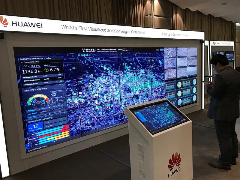 Huawei vrea să dezvolte Orașe Inteligente în România