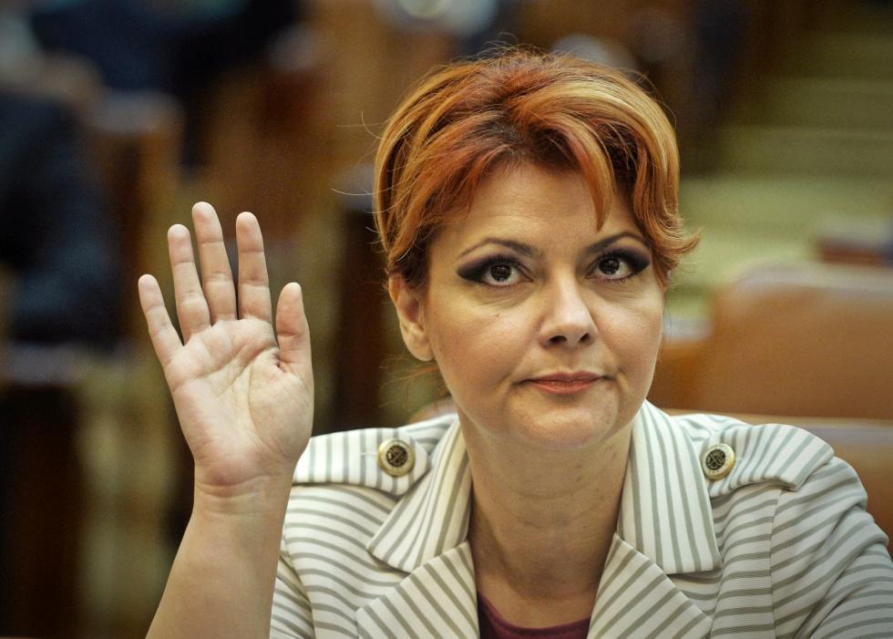 Ministrul Muncii, Lia Olguța Vasilescu, audiată la Parchetul General