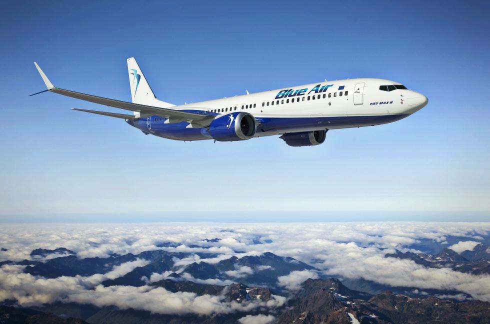 Blue Air lansează cursă directă între București și Bacău