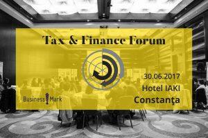 """(P) Specialiștii din domeniul consultanței fiscale se reunesc la evenimentul """"Tax & Finance Forum"""" de la Constanța"""