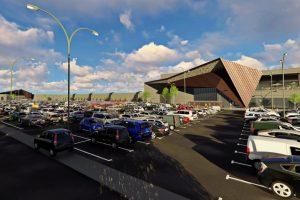 NEPI taie panglica mallului de 40 de milioane de euro din Râmnicu Vâlcea până la finalul anului