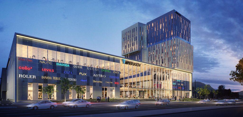 AFI începe să ridice mallul și birourile de 120 de milioane de euro de la Brașov