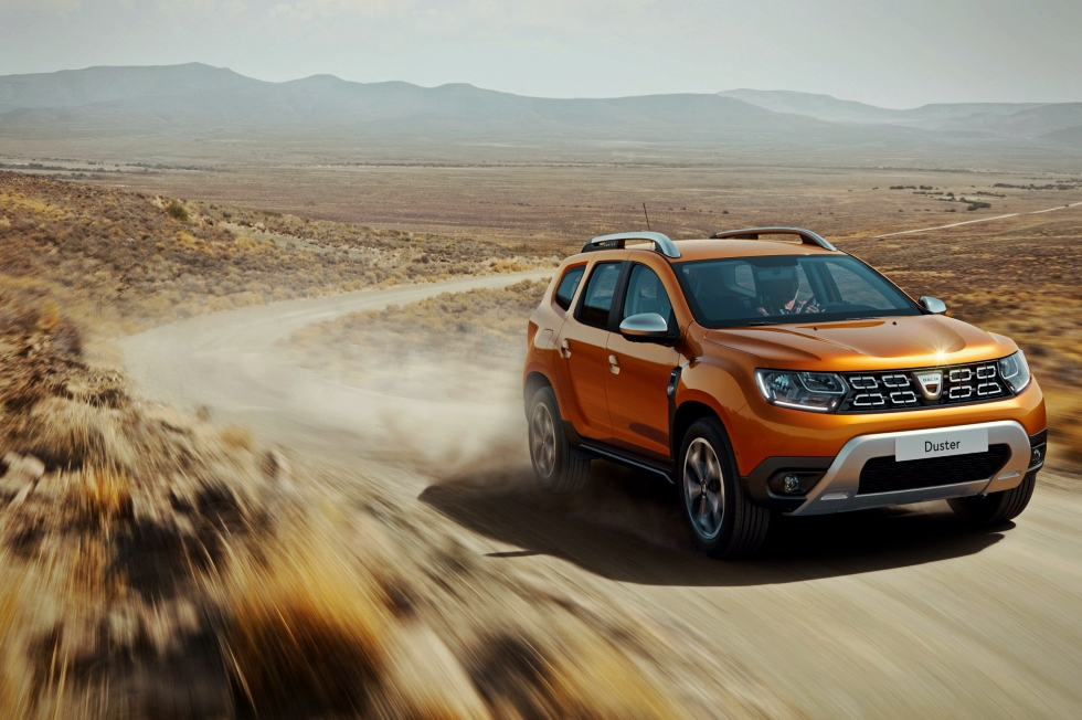 Dacia Duster, pe locul 3 în topul celor mai vândute SUV-uri în Europa în primele trei luni