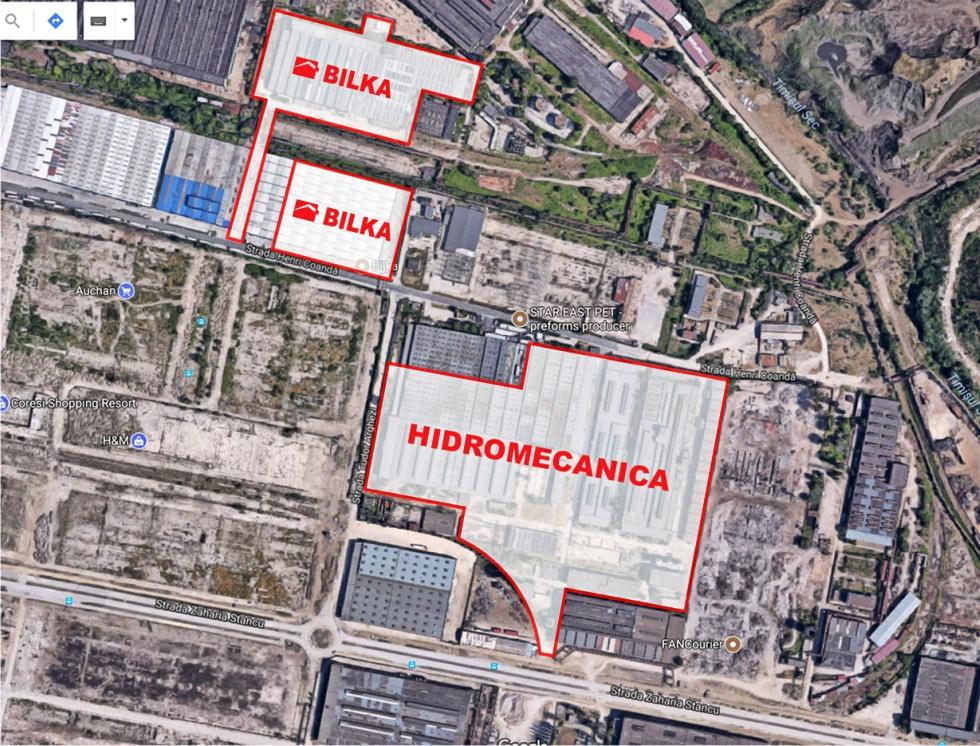 Bilka a cumpărat o fostă platformă industrială din Brașov și pregătește investiții de 20 de milioane de euro