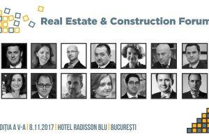"""(P) Evenimentul """"Real Estate & Construction Forum"""" reunește cei mai mari jucători de pe piața de imobiliare și construcții"""