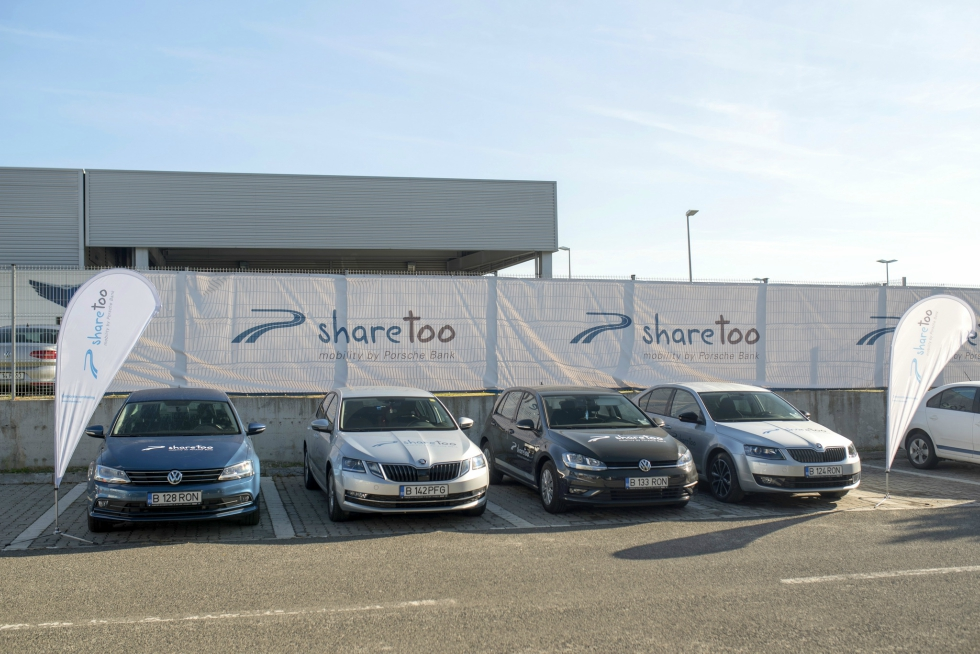 Porsche Finance Group a lansat un serviciu de car sharing