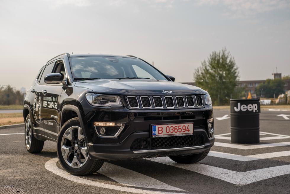 Noul Jeep Compass, lansat în România la prețuri de la 19.600 euro plus TVA