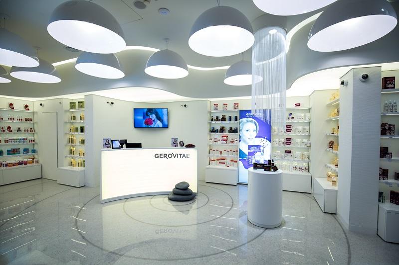 Rețeaua de magazine Gerovital și Farmec, vânzări de un milion de euro în prima jumătate a anului