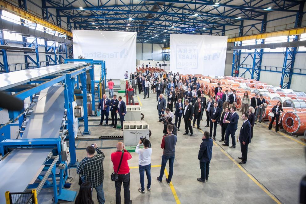 Grupul Teraplast se extinde peste hotare și deschide o fabrică în Serbia