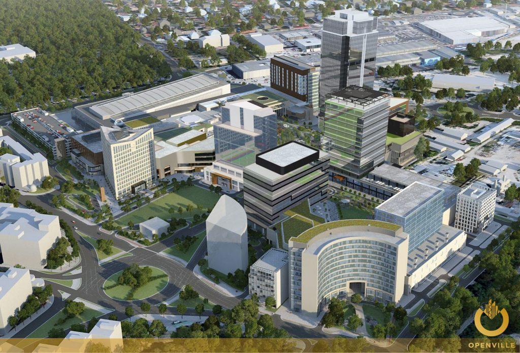Proiectul imobiliar de 220 de milioane de euro pe care Dascălu și sud-africanii de la Atterbury îl ridică la Timișoara va fi inaugurat peste un an