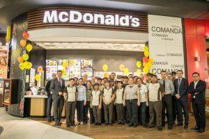 McDonald's deschide în Mega Mall restaurantul cu numărul 70 al rețelei în România
