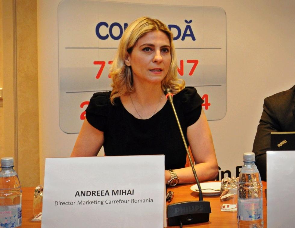 Andreea Mihai, omul care s-a ocupat de marketingul Carrefour de la intrarea francezilor în România, părăsește compania
