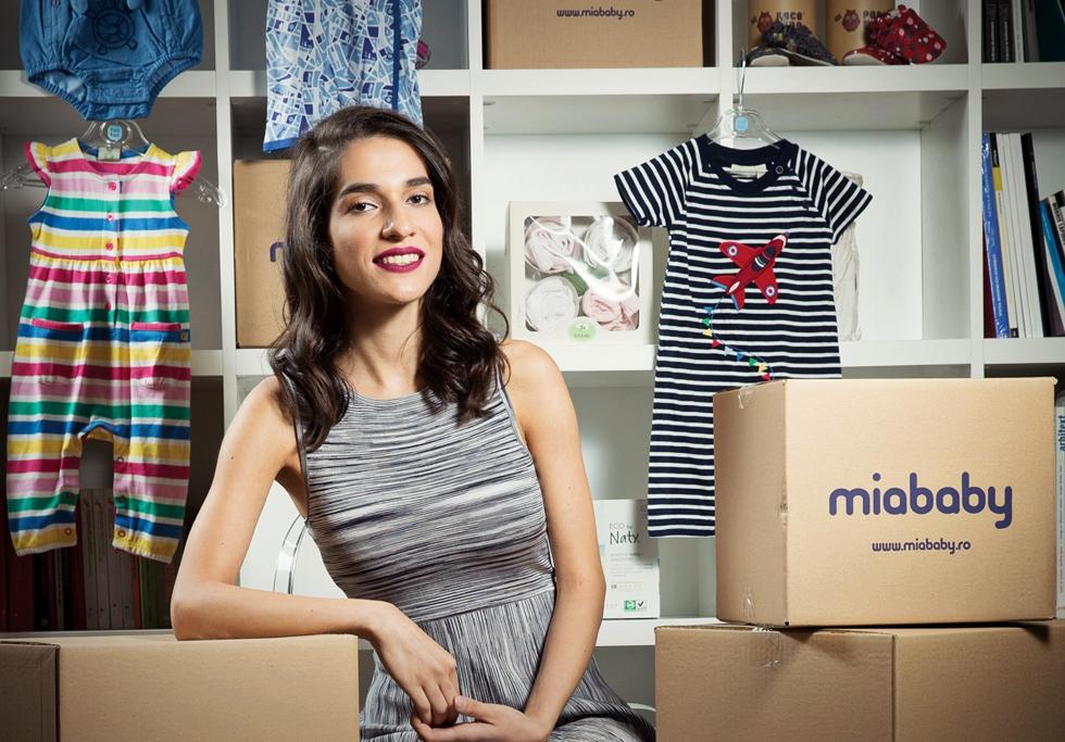 Cum a obținut o tânără de 23 de ani finanțare de jumătate de milion de euro pentru o afacere online cu produse pentru copii