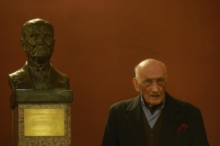Neagu Djuvara, peste veac. Istoricul a murit la 101 ani