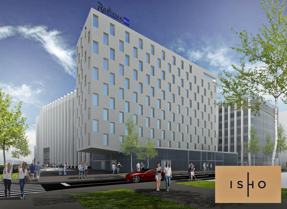 Hotel Radisson Blu, în proiectul multifuncțional ISHO din Timișoara