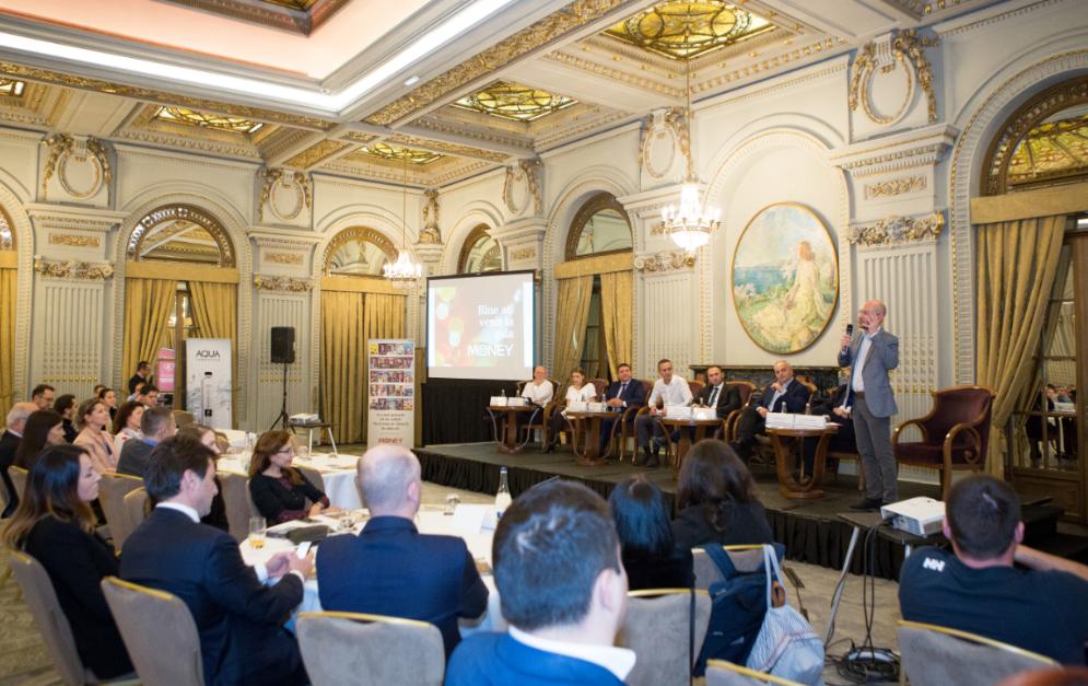 """Primarul Iașiului și șeful Romanian Business Leaders participă la primul eveniment NewMoney din caravana națională """"Centenar 2018 – 100 de idei pentru România"""""""
