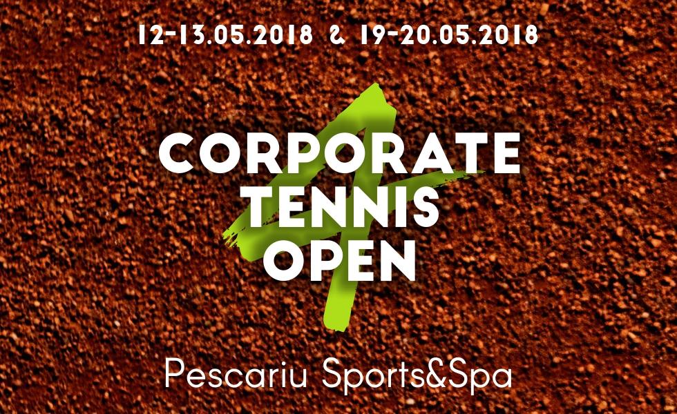 (P) Reprezentanții mediului de business concurează pentru un loc pe podiumul Corporate Tennis Open 4
