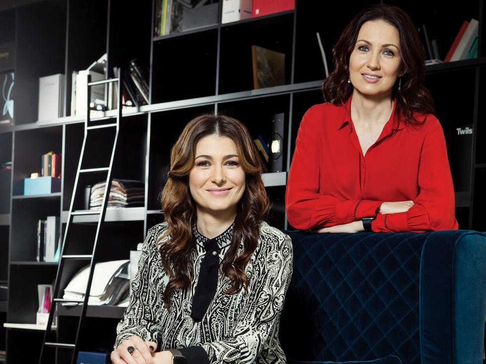 Povestea surorilor care fac peste două milioane de euro pe an din amenajări interioare