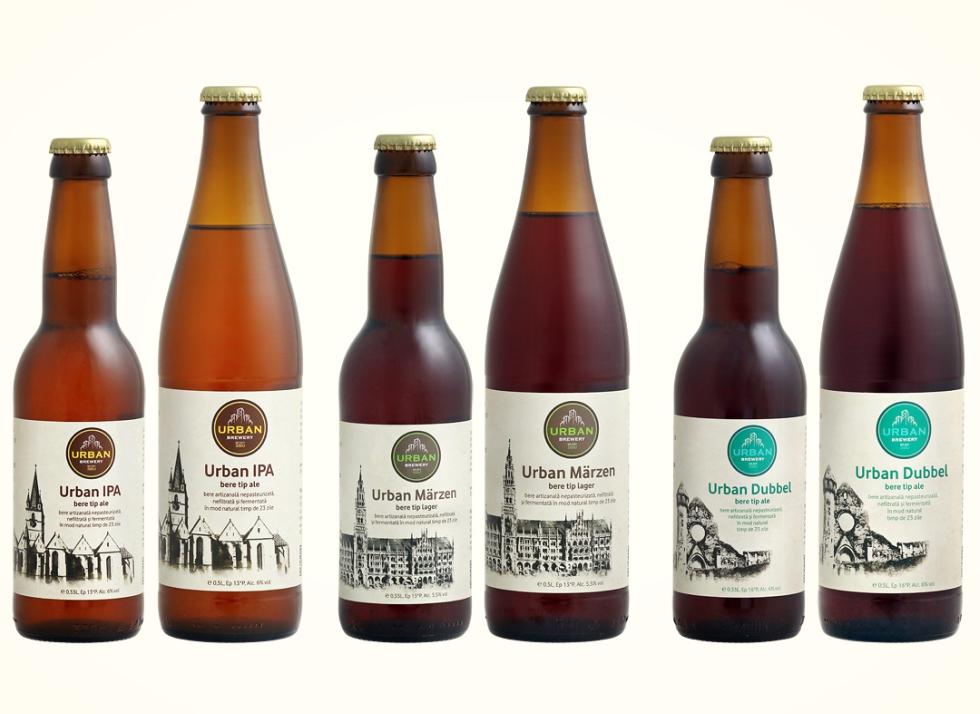 Doi sibieni au pus bazele Urban Brewery, primul producător de bere artizanală din oraș