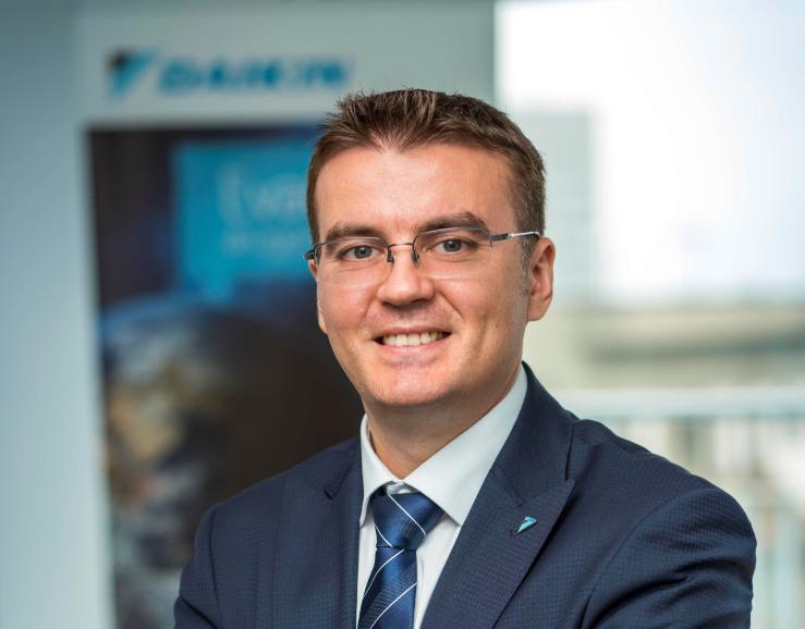 Avântul de pe segmentele de birouri și industrial a urcat afacerile Daikin cu 5% anul trecut