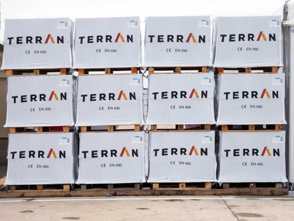 Cât a investit Terran în noua fabrică de țigle din Câmpia Turzii