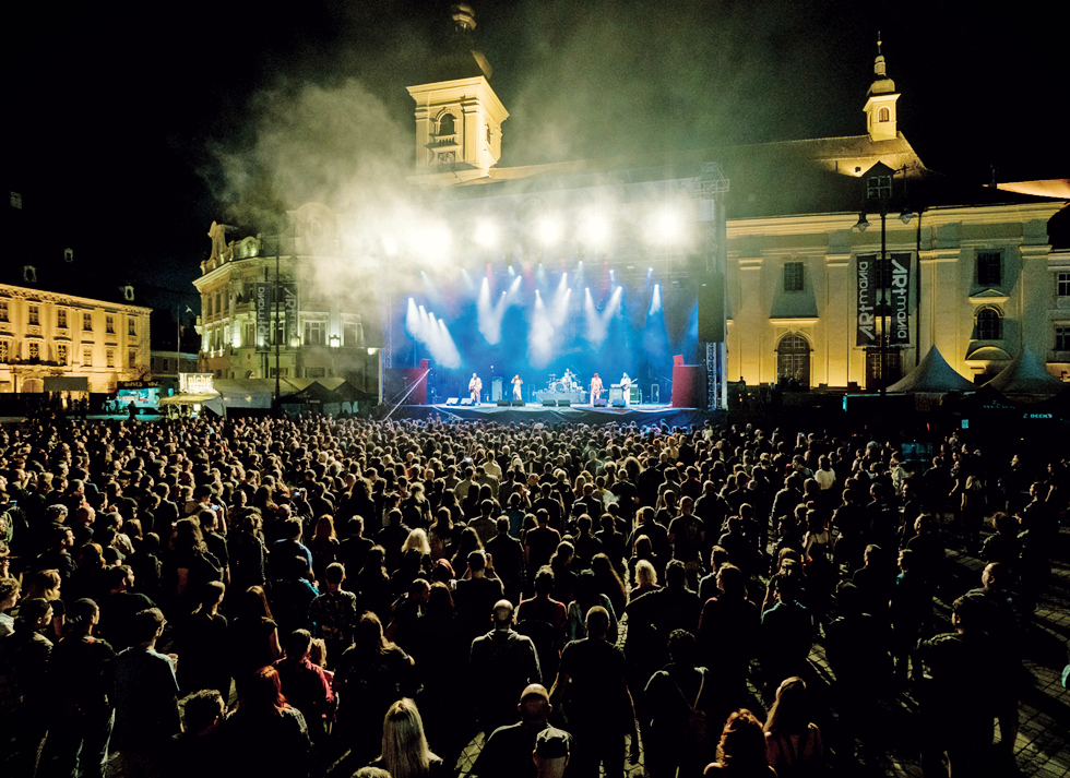 Rock la Sibiu: Ce nume mari vin la ARTmania Festival