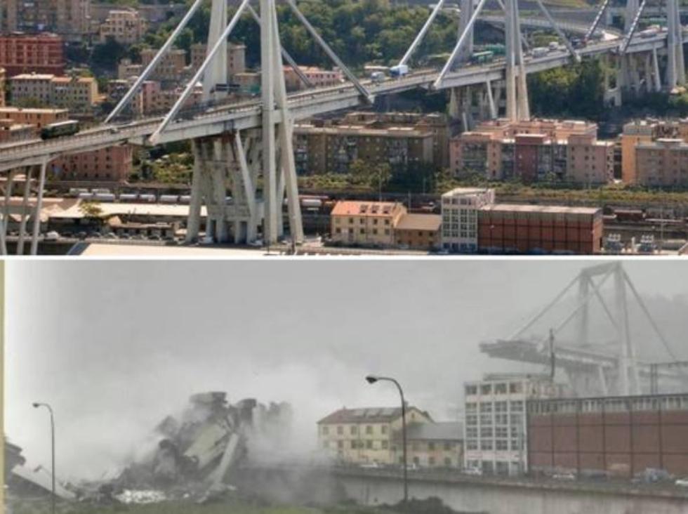 Doi români, printre victimele prăbuşirii viaductului Morandi, în apropiere de Genova