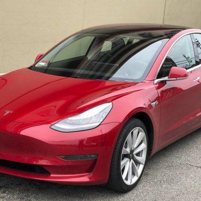 Ce notă a primit Tesla Model 3 în urma testelor de siguranță din Statelor Unite