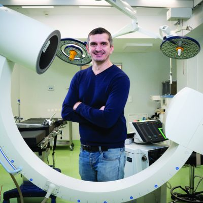 Ce l-a ținut în țară pe neurochirurgul Ionuț Gobej după ce a fost nevoit să plece de la Spitalul Colentina