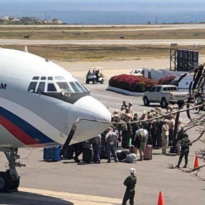 Rusia a trimis 100 de militari și zeci de tone de echipamente în Venezuela