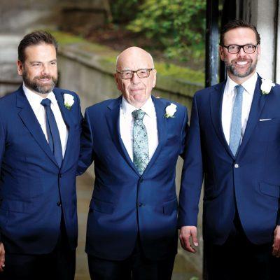 Ce traseu în business îi așteaptă pe copiii mogulului media Rupert Murdoch după ieșirea din 21st Century Fox