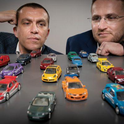 Cum e să ai 9.000 de mașini? Citiți povestea fraților Ștefan, proprietarii celui mai mare grup românesc de închirieri auto
