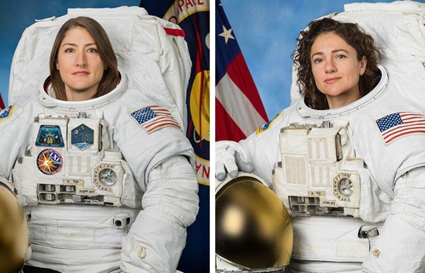 Astronautele Christina Koch şi Jessica Meir au efectuat prima ieşire în  spaţiu exclusiv feminină - NewMoney