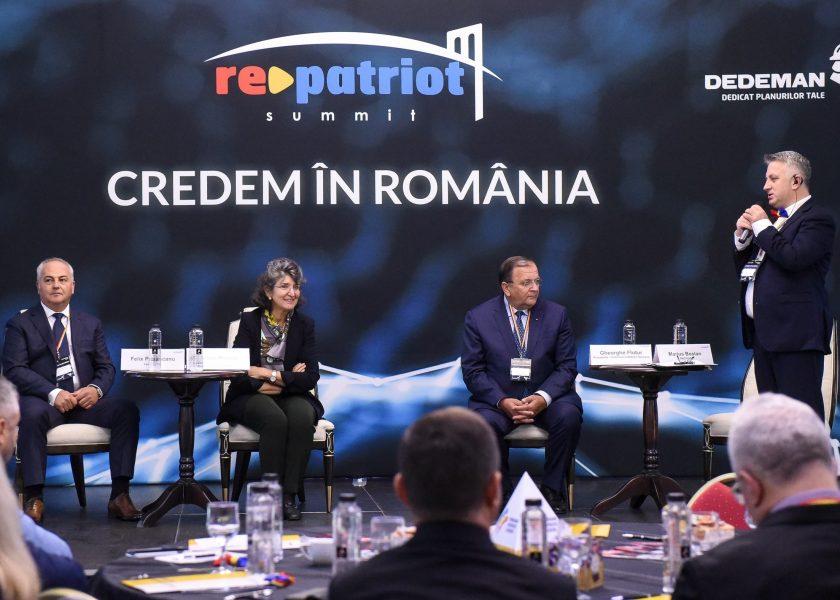 PARTENERIAT. Credem n Romnia  spun antreprenori romni de pretutindeni la Summitul RePatriot din Bucovina