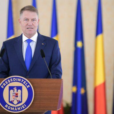 Iohannis: îl desemnez pentru poziţia de prim-ministru pe Vasile Florin Cîţu. Nu dorim să blocăm România