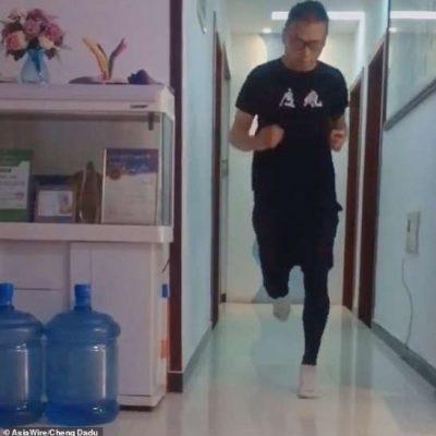 Carantină. Un maratonist din China a alergat 50 de kilometri în casă