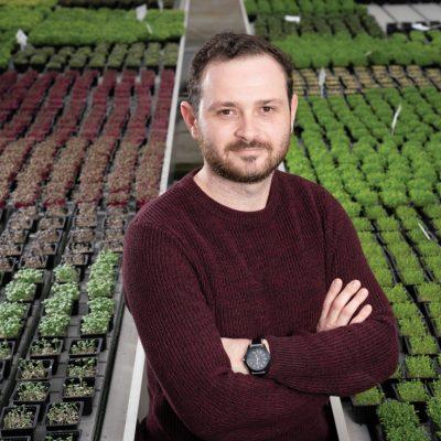 Povestea tânărului care înființează microsere în supermarketuri. Vinde microplante de peste un milion de euro pe an