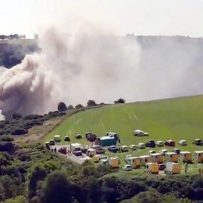 """Accident de tren în nord-estul Scoţiei. Premierul: """"Un incident foarte grav"""" - VIDEO"""