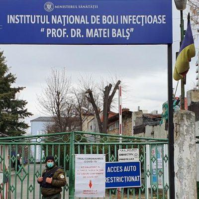 Managerul de la Institutul Matei Balş, demis. Nereguli grave în gestionarea situației pacienților COVID