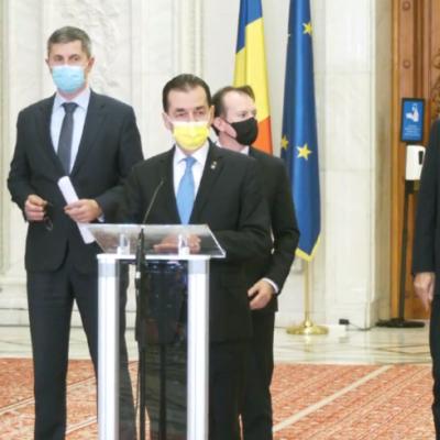 PNL, USR PLUS şi UDMR au convenit asupra unui act adiţional la Acordul de guvernare