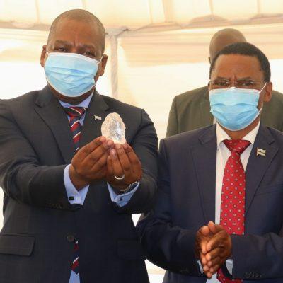 Botswana a descoperit un diamant de 1.098 de carate. Este a treia cea mai mare piatră preţioasă de acest fel din lume